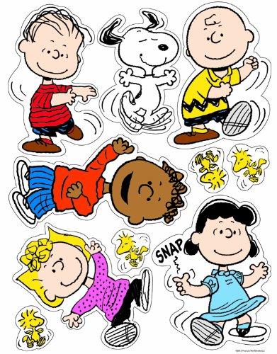 Eureka Peanuts Classic Characters Clings]()