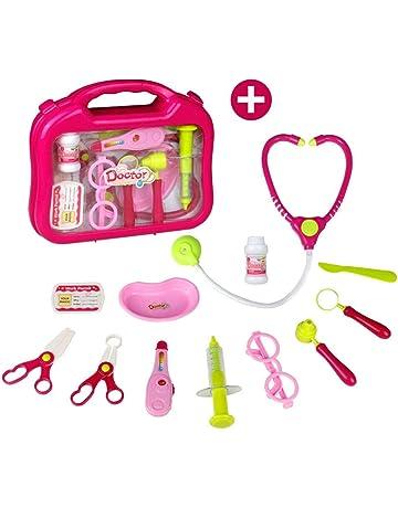 Maletin Medico Kit, Juguete de Doctora, Juegos de Médicos Enfermera para Niños Juego de