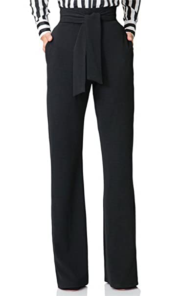 d308d502f827 SHINFY Women s Stretch Straight Leg High Waisted Casual Long Pants with Belt