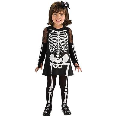 Amazon.com: bebé Esqueleto Vestido, bebé mayor (de uno a dos ...