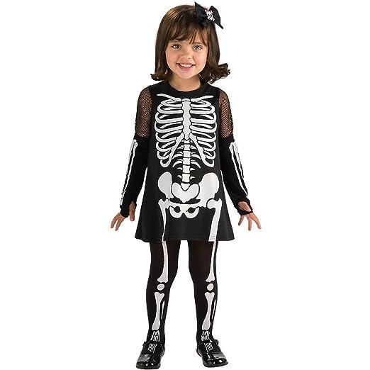 rubies skeleton girl toddler halloween costume 885196 t