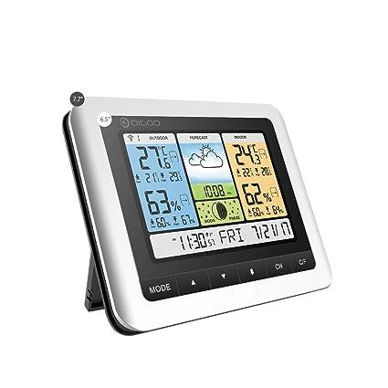 amazon com digoo th8888 in outdoor thermometer color weather rh amazon com