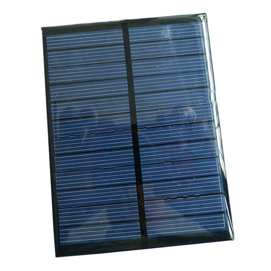 Baoblaze Mini Polycrystalline Solar Panel Cell Power Generator Charger 6V 1.1W, Garden Lawn Patio Lamp Powering