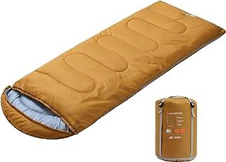 con Bolsa de Compresi/ón Ligero para Adultos Semoo Saco de Dormir Impermeable 190T de poli/éster para Acampar Festivales Senderismo En Casa o Al Aire Libre/…