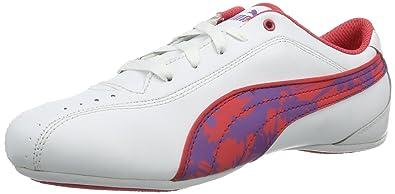 4570d262c06 Puma Girls  Talulla Wildy Jr Trainers White Size  6  Amazon.co.uk ...