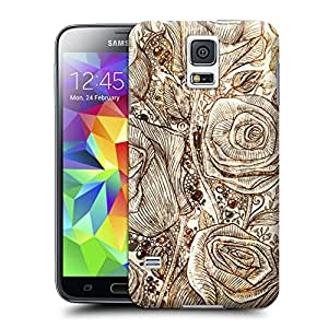 Unique Phone Case Creative five roses Hard Cover for samsung galaxy s5 cases-buythecase