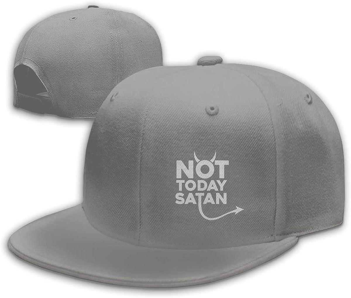 JINHBYV Not Today Satan Unisex Adult Adjustable Retro Dad Hat