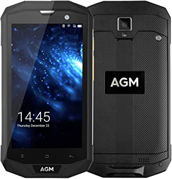 AGM A8 2GB RAM 16GB ROM Smartphone A8 SE Android 7.0 IP68 Impermeable para Aire Libre