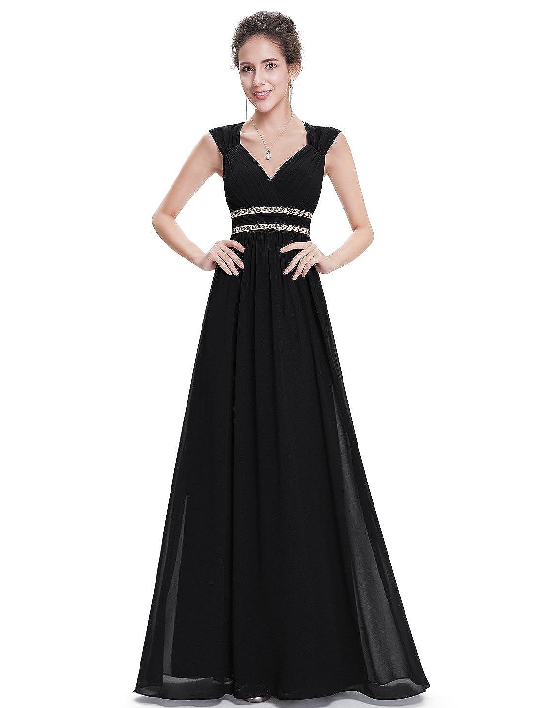 4ac96aa277b Ever-Pretty Women's Elegant V-Neck Sleeveless Formal Long Evening Dress  08697 at Amazon Women's Clothing store:
