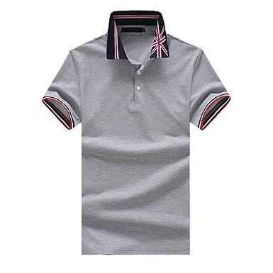 Lannister Fashion Polo Hombres Summer USA Solapa Polo Retro De ...