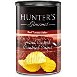 Hunter's Gourmet Hand Cooked Crinkled Chips Red Tomato Salsa - 140gm