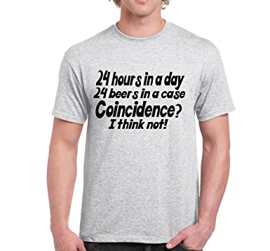 5489eabd Image Unavailable. Image not available for. Color: Starlite Mens Funny  Tshirts-24 Hours ...