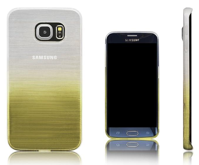 1c55dcbfe01 Xcessor Transition de Color Funda Carcasa para Samsung Galaxy S6 Edge SM-G925F.  Flexible TPU Gel Gradient Hilo De Seda Textura.