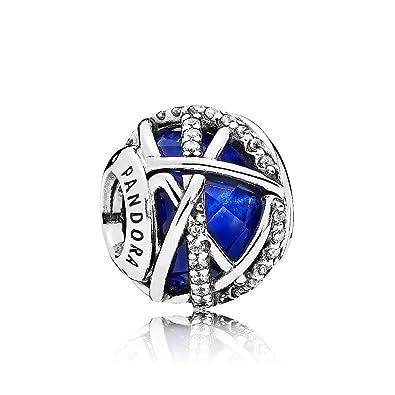 77e4f02a3 Pandora 796361NCB Royal Blue Galaxie Charm: Amazon.co.uk: Jewellery