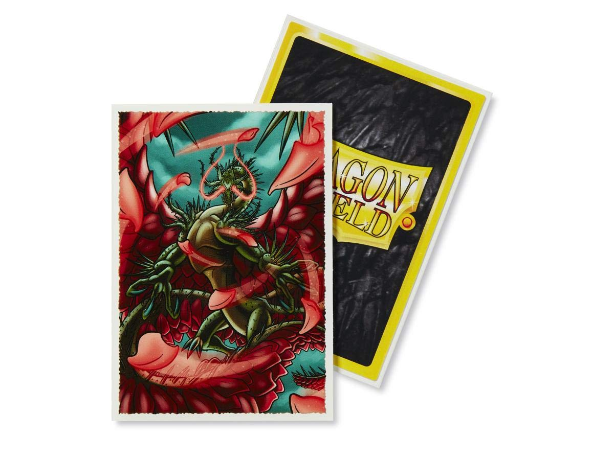 10 Packs Dragon Shield Classic Mini Japanese Rosacea 60 ct Card Sleeves Display Case