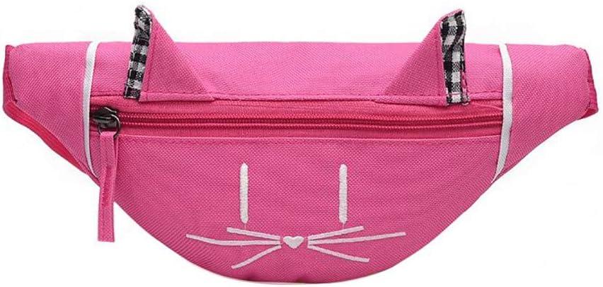 VADFLOD Fanny Pack Cat Pattern Cinturón Bolsa Caña de Viaje Bolsa ...