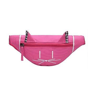 VADFLOD Fanny Pack Cat Pattern Cinturón Bolsa Caña de Viaje ...