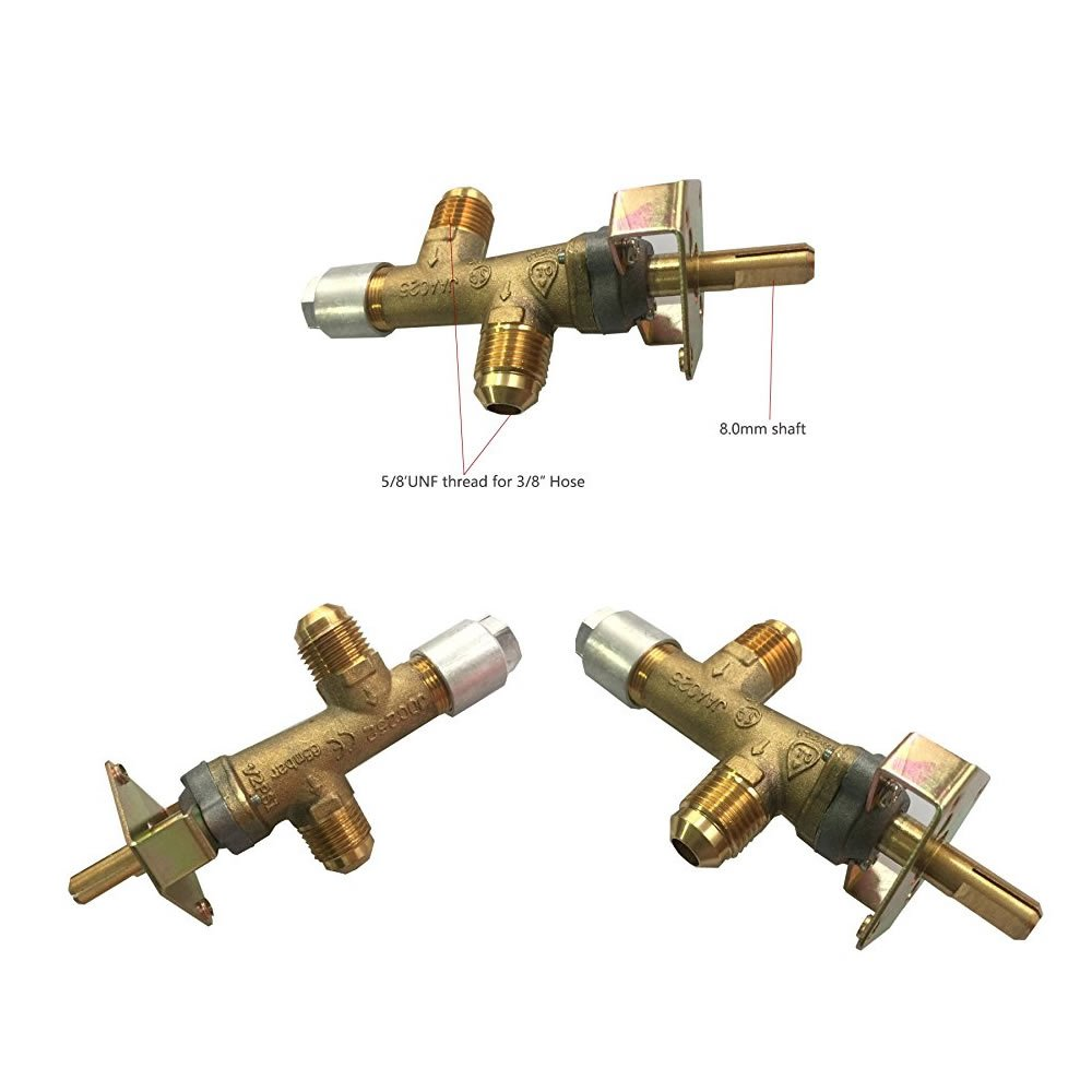 Earth Star BBQ Grill Control Valve CSA Certified Outdoor Cooking ...