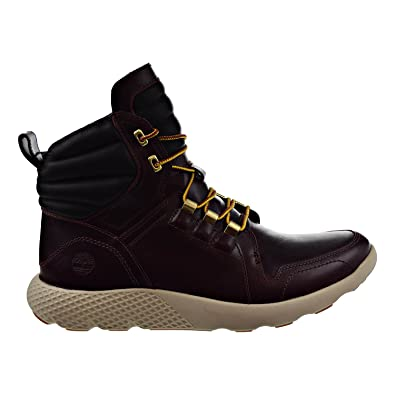 Timberland Flyroam Leather Dark Red Mens Boots tb0a1lqa (8 D(M) US) a978c62145