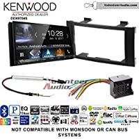 Kenwood DDX9704S Double Din Radio Install Kit with Apple Carplay Android Auto Fits 2004-2010 Volkswagen Touareg