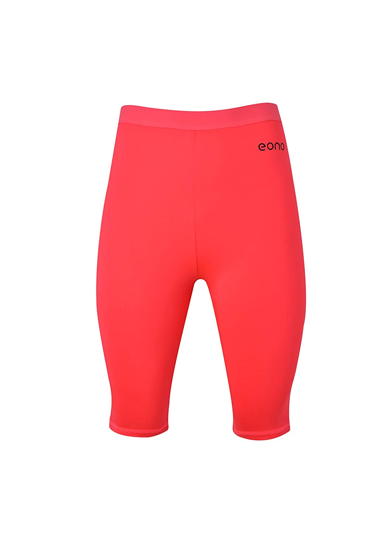 Eono Essentials elasticizzati met/à coscia pantaloncini da yoga da donna