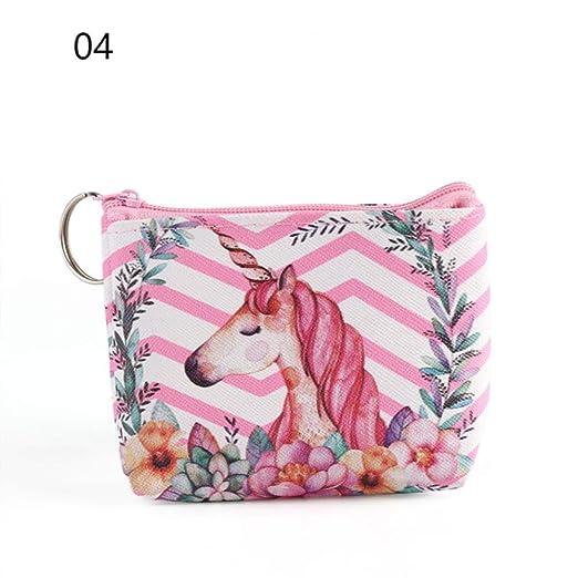 WUSYO Coin Purses Holder Animal Wallet Bag Kids Zipper Pouch Pouch Regalo, 4: Amazon.es: Hogar