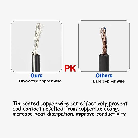 Eyourlife 8Stk 1 Meter DMX Kabel 3 Pin XLR Kabel Mikrofonkabel ...