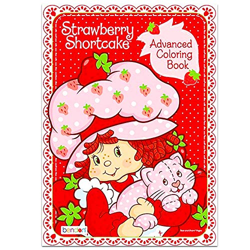 Strawberry Shortcake Coloring Book (Bendon Strawberry Shortcake Advanced Coloring Book - Friendship is a Special)