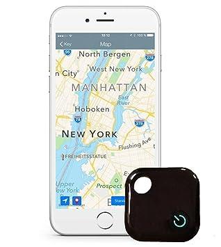 Mokiro Anti perdida Mini Localizador y rastreador Alarma para buscar o perseguir carteras/ monedero/niños/mascotas/llaves/ teléfono/ perros para iOS/Android ...