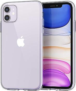 SPARIN [2-Pack Funda iPhone 11, Carcasa iPhone 11 TPU Transparente [Flexibilidad] Carcasa, Funda de Silicona, [contra Arañazos] [Anti-Golpe] Protección Carcasa para iPhone 11 (2019): Amazon.es: Electrónica