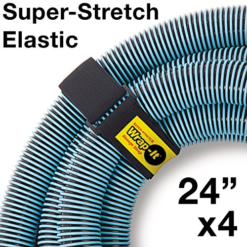 Wrap It Super-Stretch Storage Straps (24