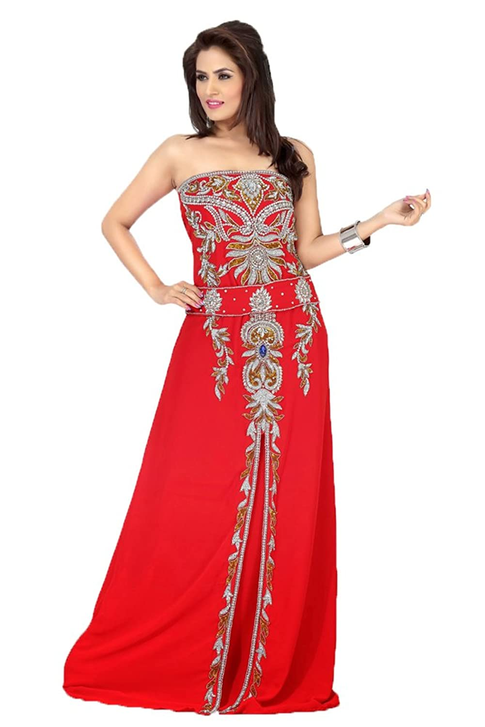 PalasFashion Evening Gown kaftan Dress Women's KKPF17166