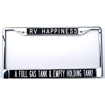 cheap Makoroni - RV THERE YET Camper Ch Steel License Plate Frame ...