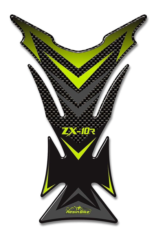 Adhesivo 3D Protector de Depósito Compatible con Kawasaki Ninja Zx10r 2006-2010