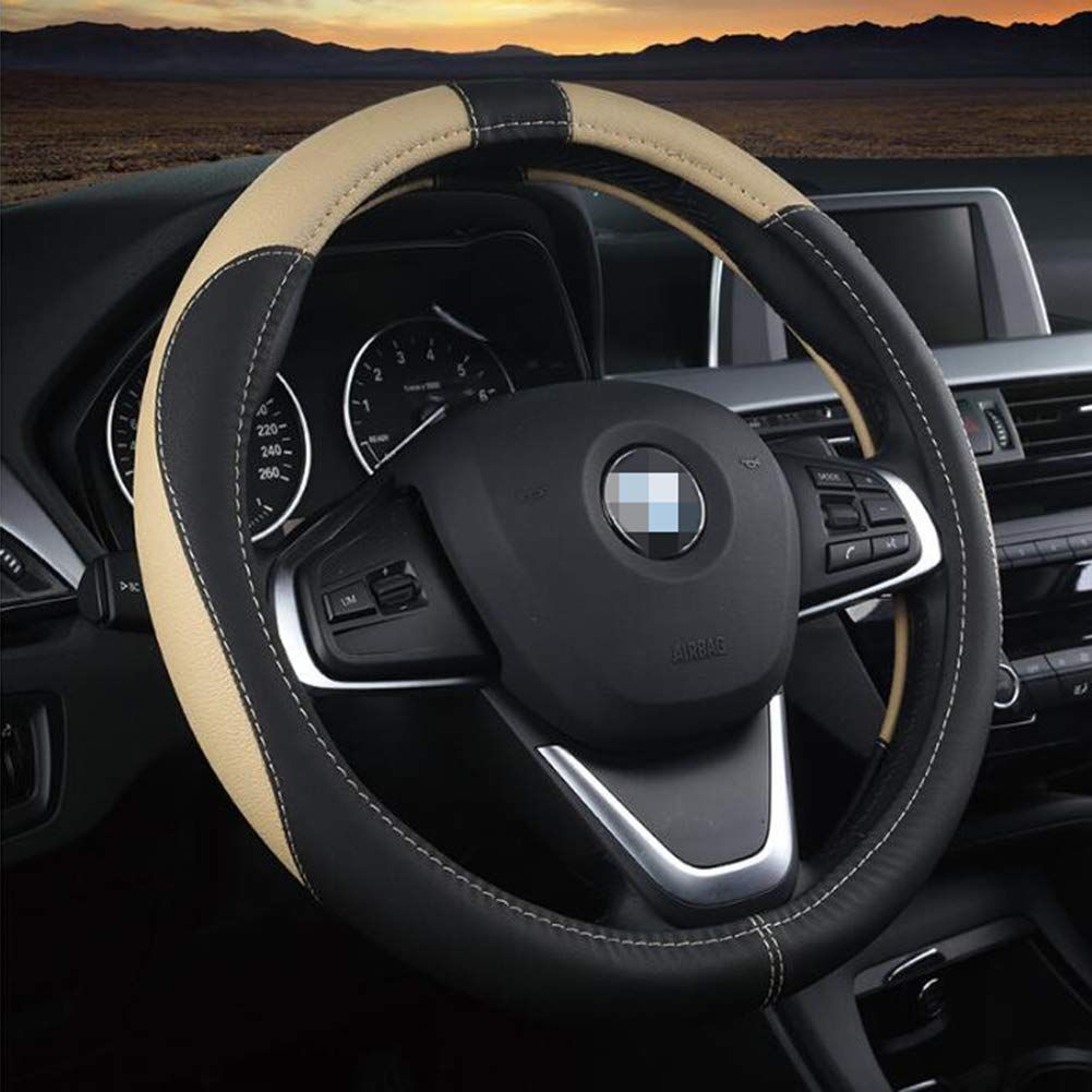 Car Steering Wheel Cover Leather Anti-slip For  for Car Truck Van SUV Protector