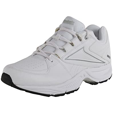 reebok white running sport shoes