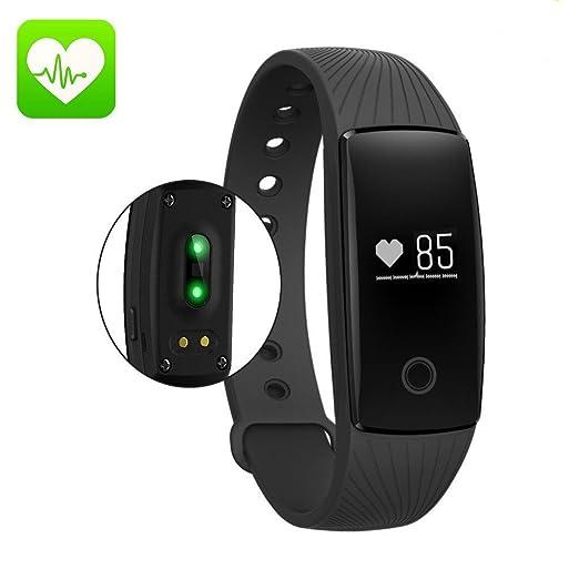 356 opinioni per Fitness Tracker, Orologio da Braccialetto Activity Tracker Cardio Pedometro