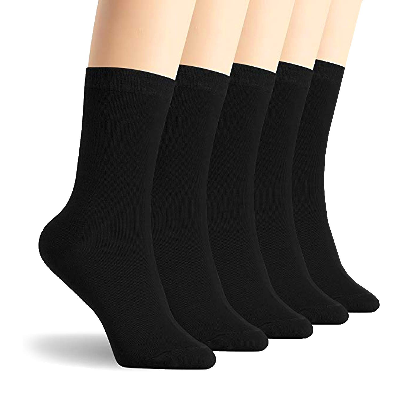 12 paia L/&K Calze Uomo e Donna Calzini Cotone comodo sportiva bianco nero 92216