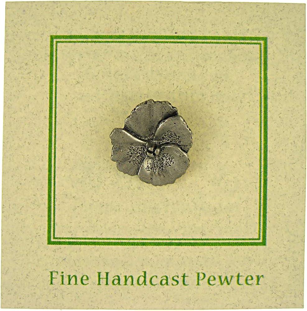Jim Clift Design Pansy Lapel Pin