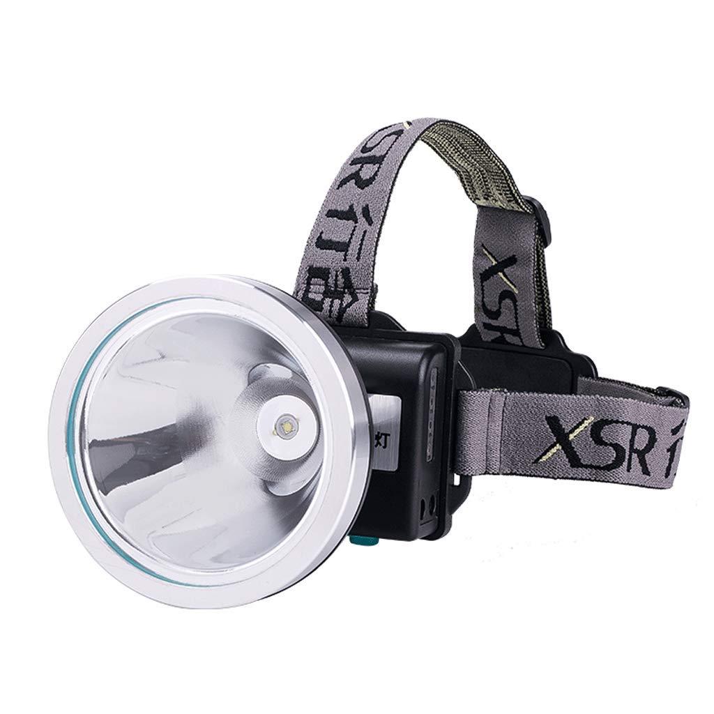 Fischen Induktion Scheinwerfer Blendung Ladung Kopf-Taschenlampe Jagd Nachtfischen LED Bergmann Lampe