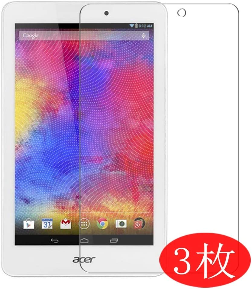 "【3 Pack】 Synvy Screen Protector for ACER A1-850 Iconia Tab 8 8"" TPU Flexible HD Film Protective Protectors [Not Tempered Glass]"