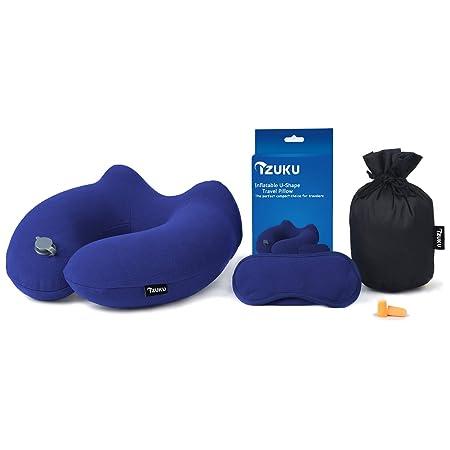 Izuku - Cojín de viaje, ideal para la oficina y el hogar ...