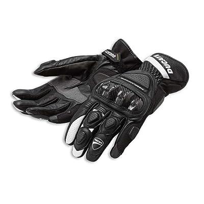 Ducati 981028245 Sport C2 Leather Gloves - Black - Large