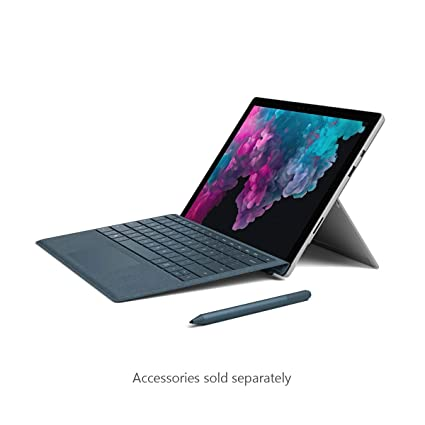 aa951a22594 Amazon.com : Microsoft Surface Pro 6 (Intel Core i5, 8GB RAM, 128GB) -  Newest Version, Platinum : Computers & Accessories