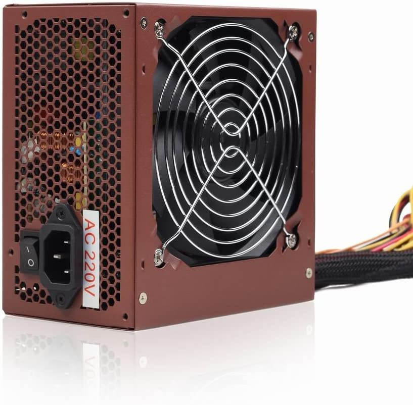 Gembird CCC-PSU400-01 Unidad de Fuente de Alimentación, 400W ATX/BTX PSU, 80 PLUS Bronze, Ventilador de 12 cm/Para PC Computadora/iCHOOSE: Amazon.es: Electrónica