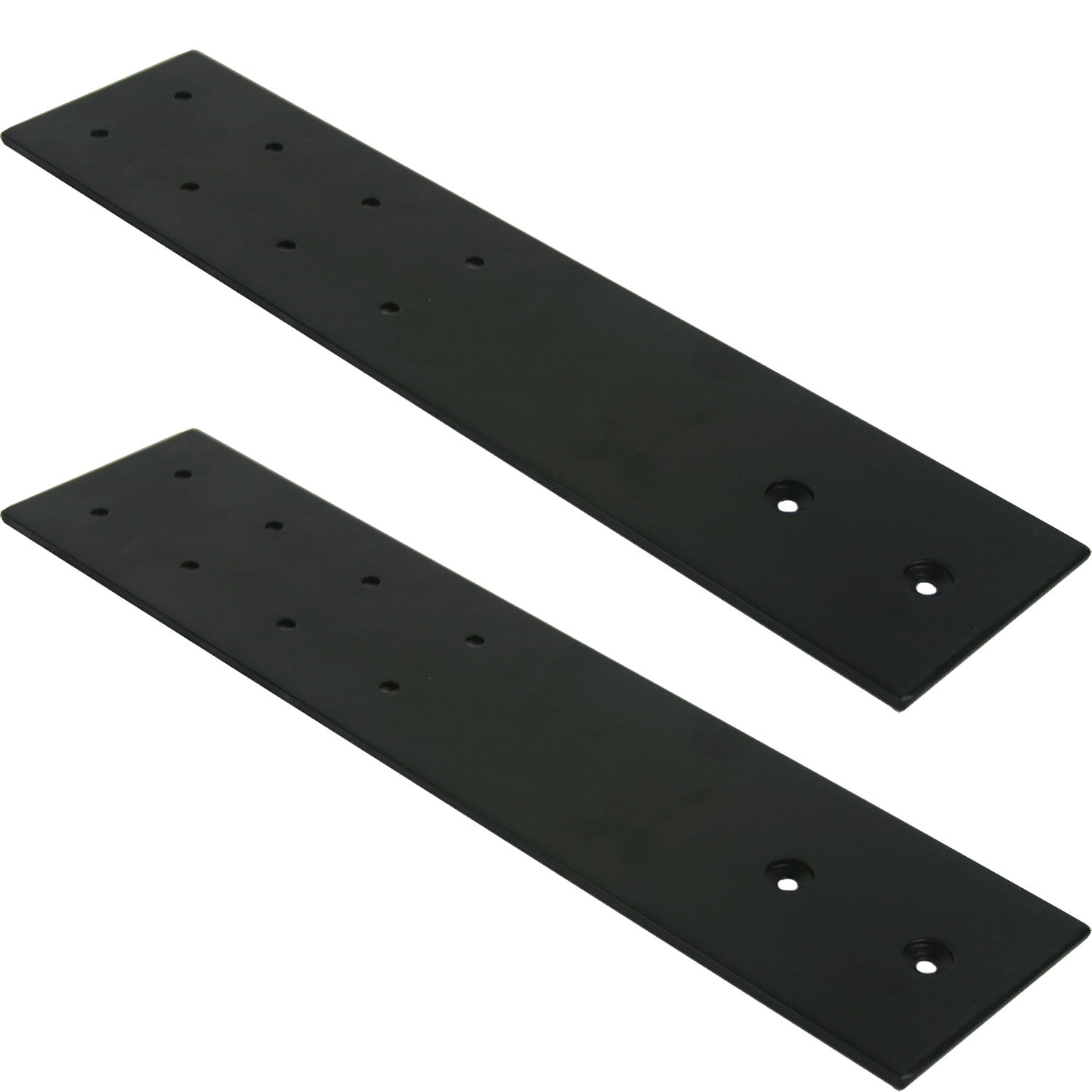 FastCap 09394-BL 3-1/2-inches x 16-inches Black SpeedBrace Stealth 300LB, 2-Pack