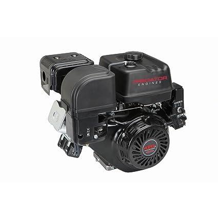 Amazon com: 13 HP (420cc) OHV Horizontal Shaft Gas Engine EPA