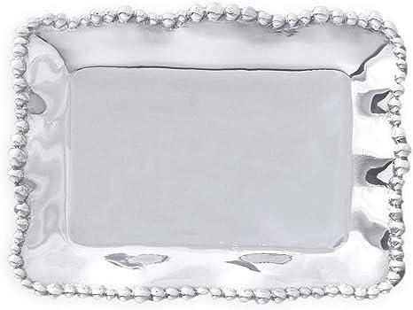 Amazon Com Beatriz Ball Giftables Organic Pearl Rectangular Tray Serving Trays