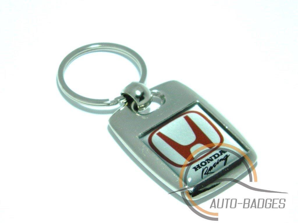 auto-badges Honda Heavy Metal Porte-cl/és Plaqu/é Argent
