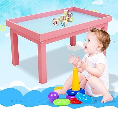 Mesa de Juego de Madera Maciza para niños, de la Marca Rock1on ...